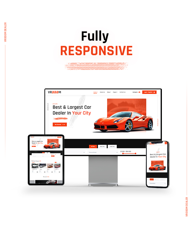 Vrooom - Auto Dealer WordPress Theme - 10 auto dealer wordpress theme Vrooom 05