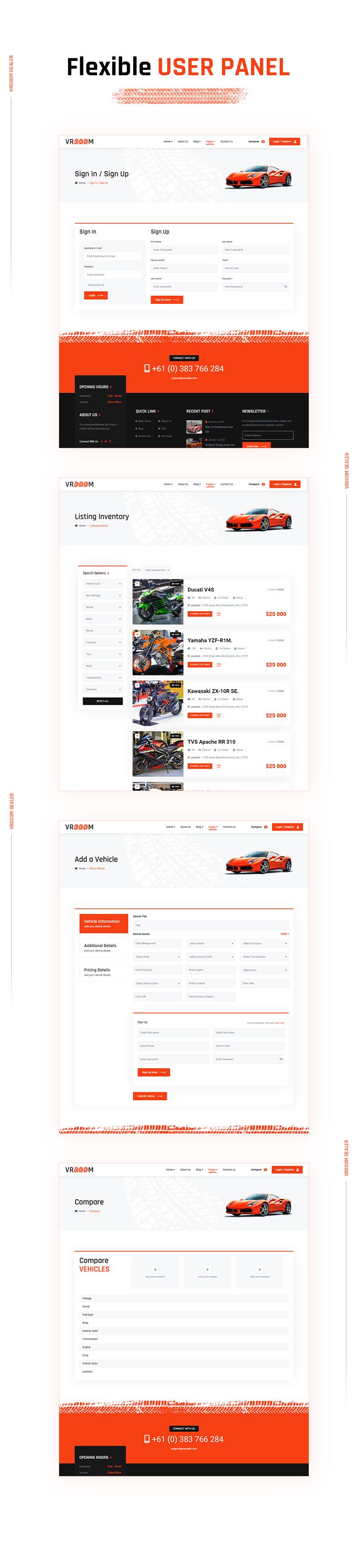 Vrooom - Auto Dealer WordPress Theme - 12 auto dealer wordpress theme Vrooom 07