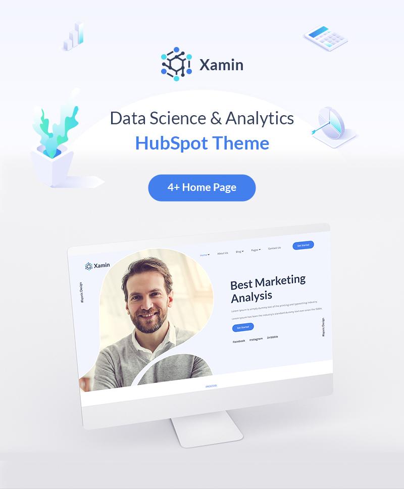 intro data science & technology hubspot theme Xamin 01