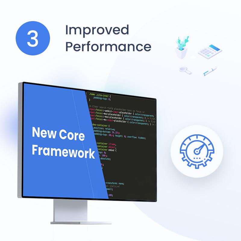 Xamin | Biggest Data Science WordPress Theme data science and analytics saas wordpress theme Xamin 3 Improve performance