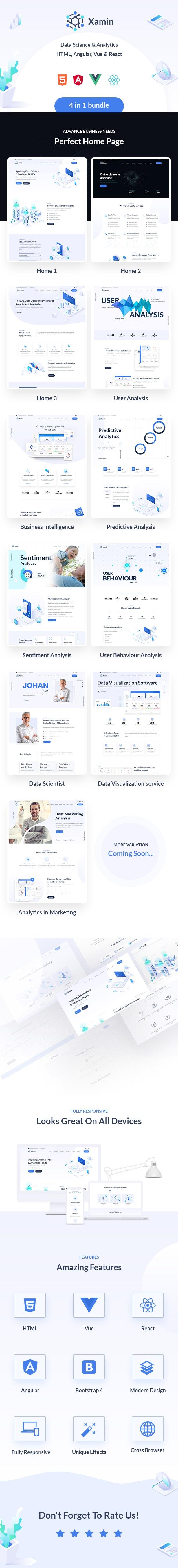 intro data science & analytics html angular vue & react template Xamin Data Science & Analytics HTML, Angular, Vue & React Template live preview html1