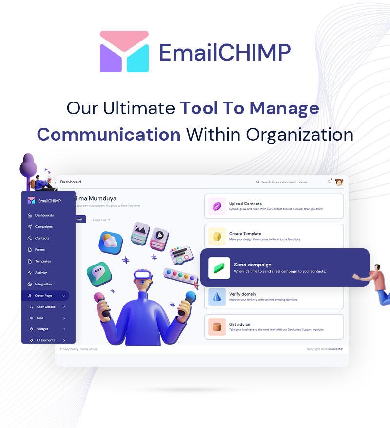 EmailChimp - VueJS, HTML Marketing Tool Admin Template - 6 vuejs html marketing tool admin template EmailChimp 01