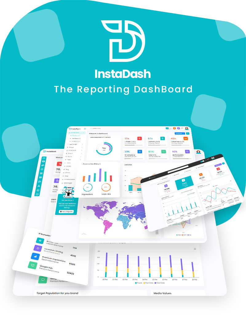 VueJS HTML and SCSS Reporting Admin Dashboard | InstaDash | Iqonic Design vuejs html and scss reporting admin dashboard Instadash 1