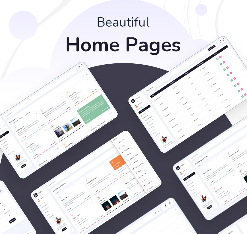 VueJS Laravel and HTML Note Taking Admin Template | Noteplus | Iqonic Design vuejs laravel and html note taking admin template Noteplus 2