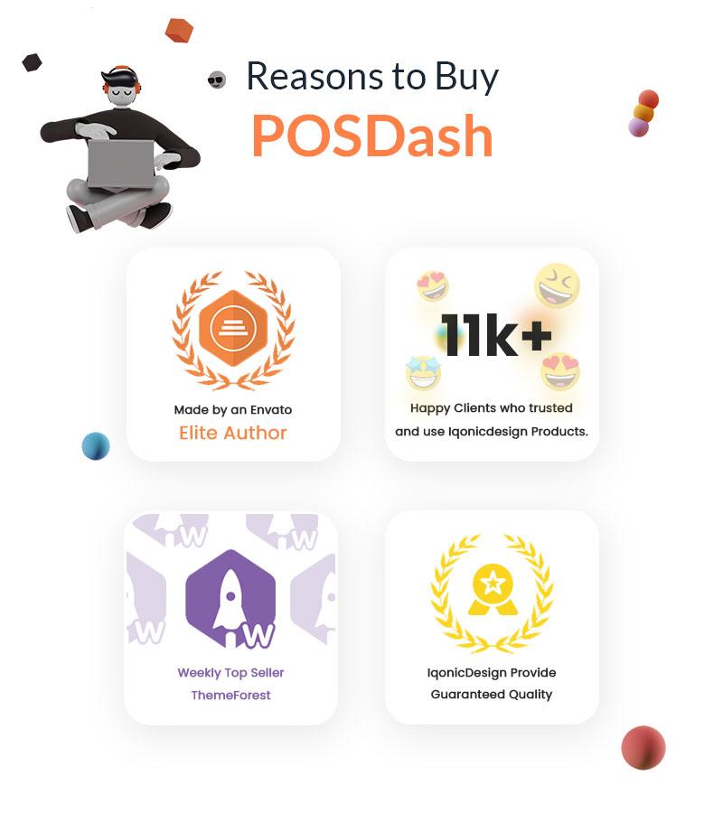 vuejs html template for inventory system   PosDash   Iqonic Design vuejs html inventory admin template POSDash 3
