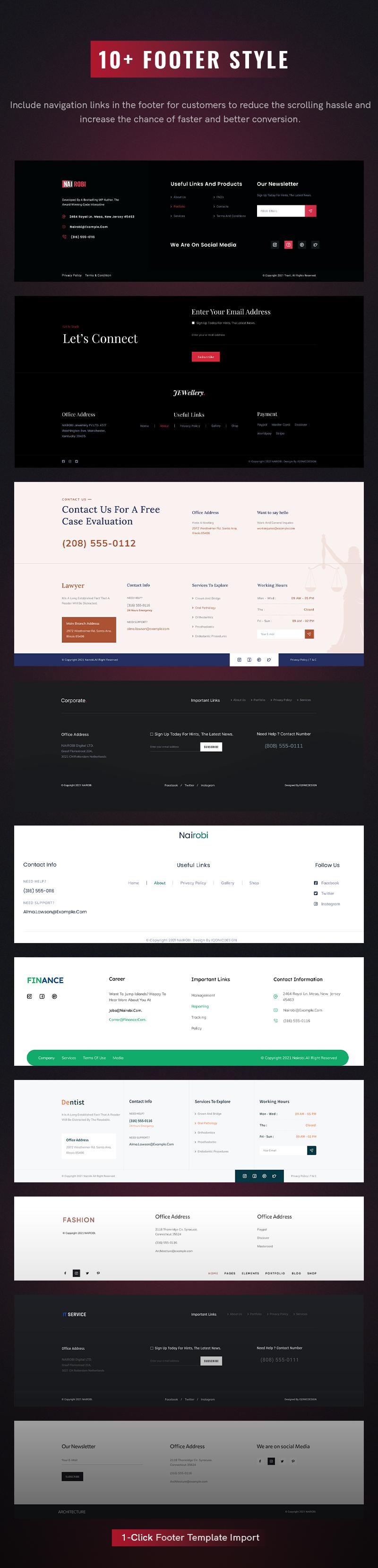 Creative Business WordPress Theme | Nairobi | Iqonic Design creative business wordpress theme Nairobi 7